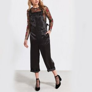 NEW Urban Outfitters Silence Noise Satin Jumpsuit
